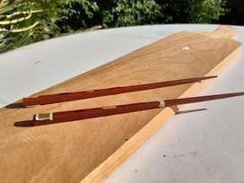 Par de palos chinos de madera pintados - Nuevos