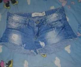 Short de jeans talle 38