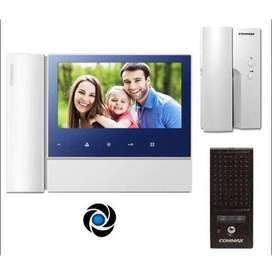 Commax kit completo cdv70n2 + telefono adicional de audio
