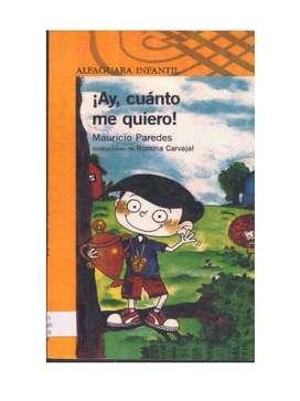 AY, CUANTO ME QUIERO, Libro