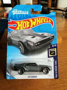 Hot Wheels Ice Charger The Fate of the Furious Movie