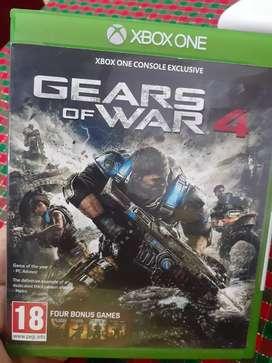 Juego gears of war saga del 1 al 4