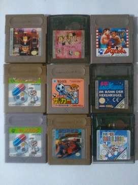 Lote de Juegos de Game Boy Y Gb Color