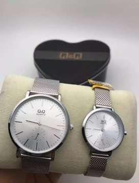 Reloj q&q original pareja