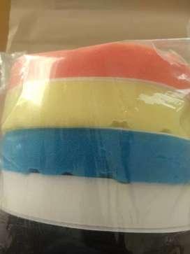 Esponjas Para Pulir Autos De 7 Pulgadas Con Velcro
