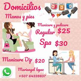 Manicurista domicilio