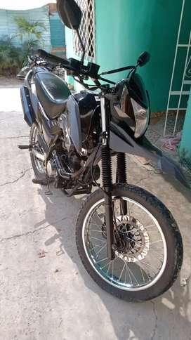 Vendo moto AKT tt125 repontenciada a 150 totalmente nueva