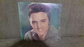 Disco de vinilo Elvis Presley disco doble importado 33 rpm