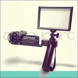 A64 Brazo Soporte Camara Foto Video Sony Canon Lumix Olympus
