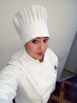 Vendo uniforme de cocina sena talla L