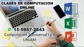 Clases de Computación Online (Unlam)