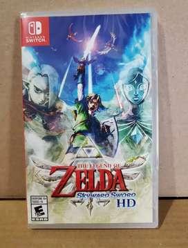 The Legend of Zelda Skyward sword Nuevos Sellados