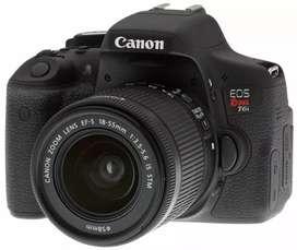 Canon t6i con lente 18-55 casi nueva