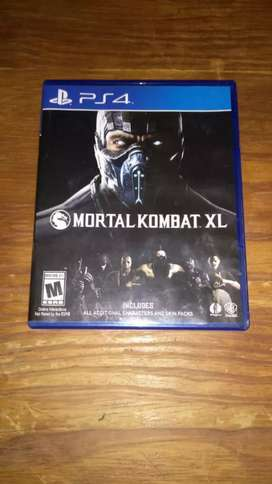 Vendo Mortal Kombat XL con poco uso