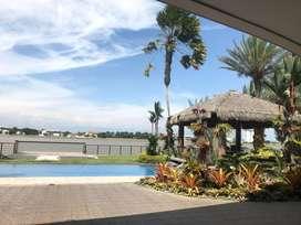 Vendo Casa de Lujo con Hermosa Vista Frente Al Río en El Km 5.5 Vía Samborondón