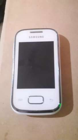 Vendo celular Galaxy pocket blanco