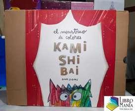 El monstruo de colores. Kamishibai