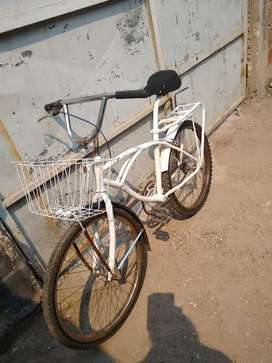 Bici impecable restaurada rodado 24