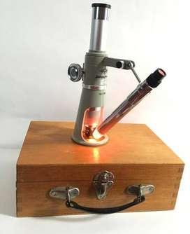 Microscopio para metalografía 60X