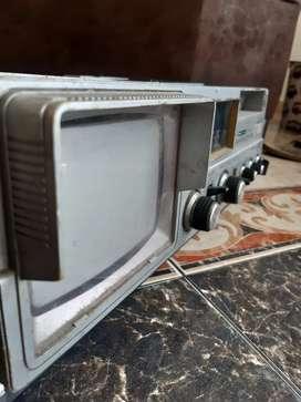 Grabadora con tv a color
