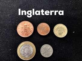 Coleccion de Monedas antiguas - Varios paises y años