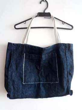 Bolso en Jean azul.oscuro ARMI