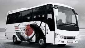 micro bus mitsubishi de 19 pasajeros 2019  intermunicipal con cupo en empresa buena
