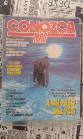 Antigua Revista Conozca Mas A Un Paso Del Yeti
