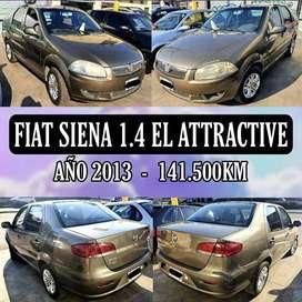 Fiat Siena 1.4 EL Attractive 2013