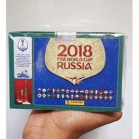 Caja Panini Mundial Rusia 2018 Italianas Envío Gratis