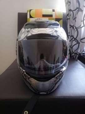 Vendo casco icon airmada mechanica 9/10 original