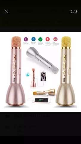 Microfono karaoke batería