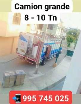 Camion grande de 8 - 10 toneladas para carga