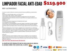 Limpiador facial anti-edad. Envío gratis