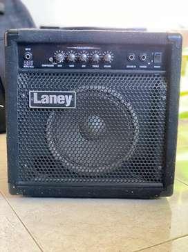 Amplificador Laney Rb1 para bajo 30w