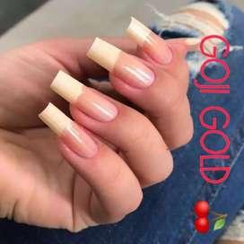Tratamiento acelerador de crecimiento para uñas
