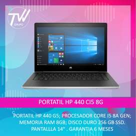 PORTATIL HP 440 CI5 8G