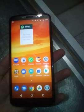 Motorola e 5 plus con huella