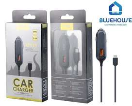 Cargador para auto MTK AT929 con cable Micro USB