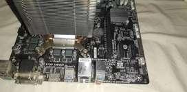 Placa +procesador +ram