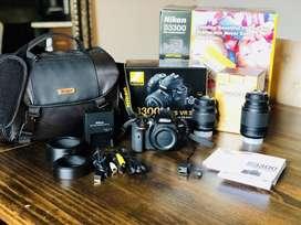 Cámara Nikon D3300 + 32gb + Estuche Nikon con Garantia