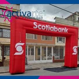 Arcos Inflables Publicitarios / Inflables / Inflables para publicidad