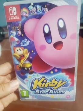 Vendo o cambio kirby nintendo switch