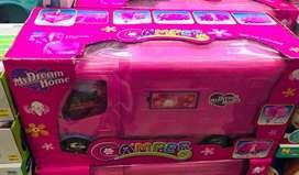 Camper de la barbie infantil