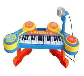 Órgano De Juguete De Piano Eléctrico De 31 Teclas Multifunci