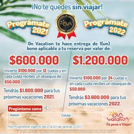 A ahorra $100.000 y On Vacation te regala $50.000