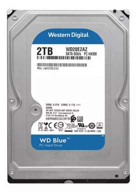 Disco Rígido 2 TB Western Digital Blue