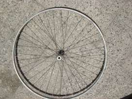 llanta delantera para bicicleta de carrera, de aluminio rodado 28 impecable estado