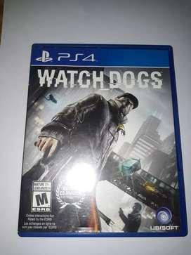 Juego de ps4 Watch dogs