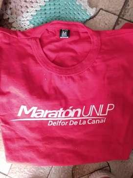 Remera M maratón